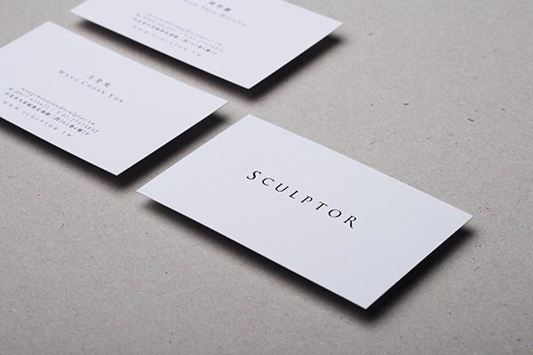 sculptor business card