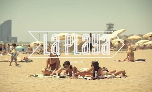 WANKEN - The Blog of Shelby White » EF Language School Commercials #beach #girls #typography