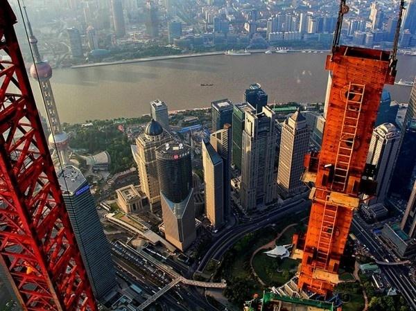 Stunning Aerial Photos of Shanghai 7 #shanghai #photography