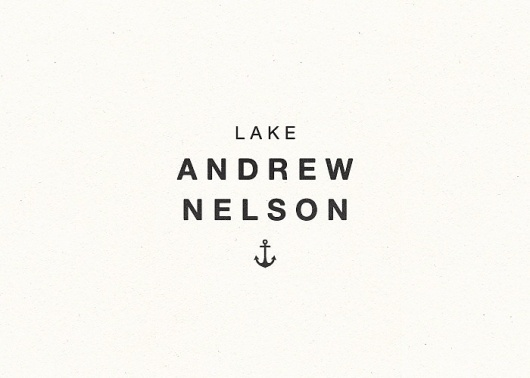 Logo Project: Branding 10,000 Lakes #white #avant #type #black #and #logo #typography