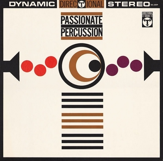 p33_passionate_persussion.jpg 600×594 pixels #project #thirty #design #graphic #sleeve #record #illustration #three