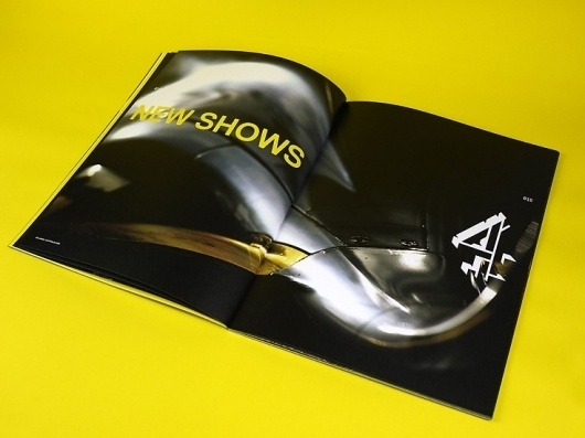 Graphical House - Channel 4 #type #print #brochure #typography