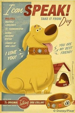 FFFFOUND! | dug.jpg (image) #character #dog