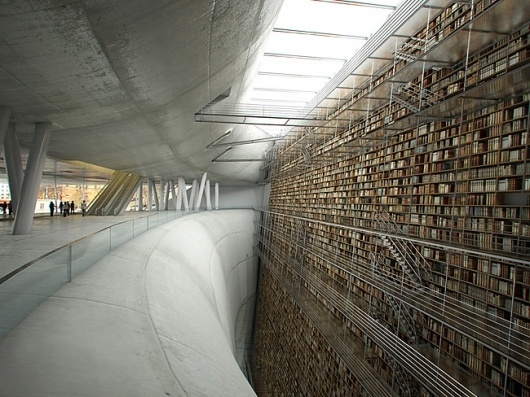 0f363eb9.jpg 650×488 pixels #interior #architecture #library #books