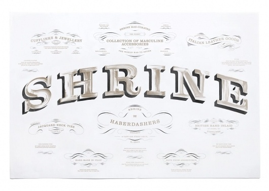 SI Special – Triboro Design | September Industry #typography