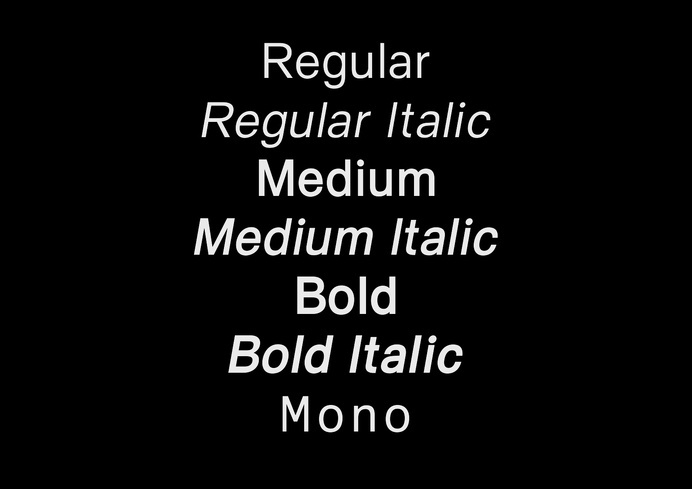 Everyday by M XB #serif #sans #typeface #typography