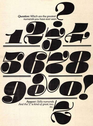 grain edit · modern graphic design inspiration blog + vintage graphics resource #u&lc #numerals #and #herb #lubalin #print #case #mid #upper #century #lower