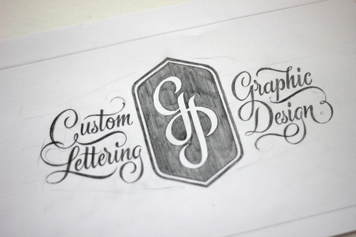 typeverything:Take a look at Ged Palmer's brand new portfolio! #type #pencil #custom