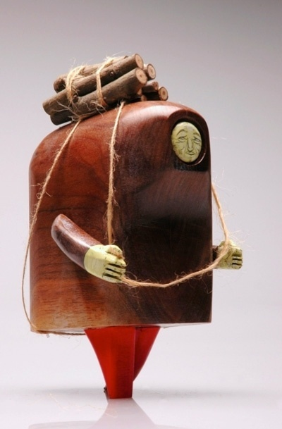 Three Dimensional - MonoBrow #wood #sculpture #toy