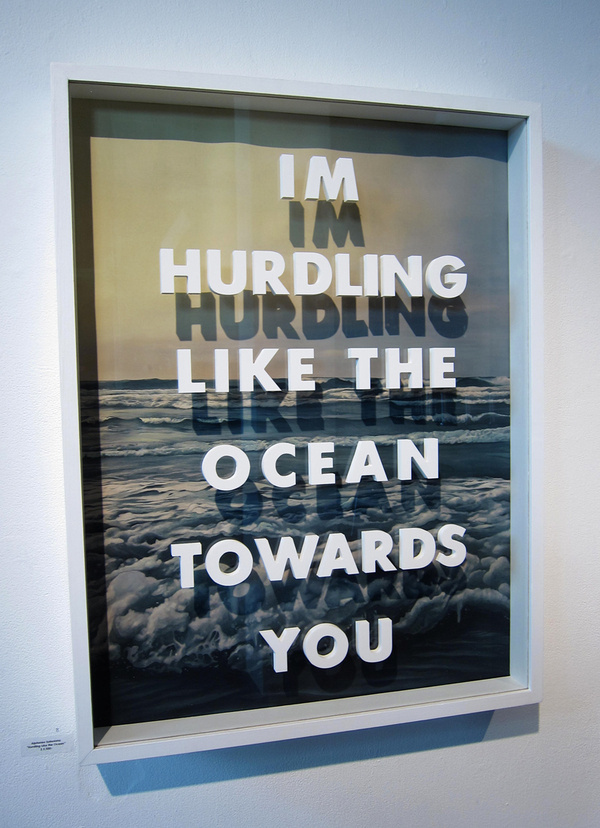 I'm Hurdling Like The Ocean Towards You by Alphonzo Solorzano #sculpture #art #contemporary