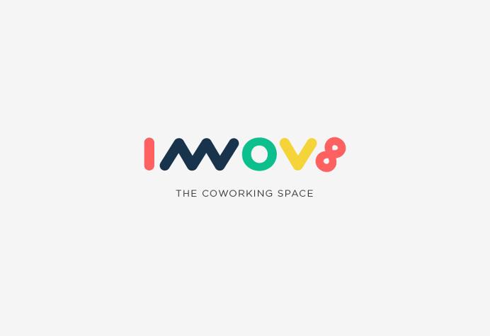 Innov8 Logotype #logodesign #typography #logotype #minimal #startup #rahulpande