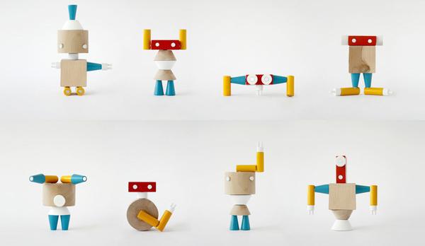 Robole (toys) #przemek #ostaszewski #colorfull #wood #robole #prodi #magorzata #toy #kiewska