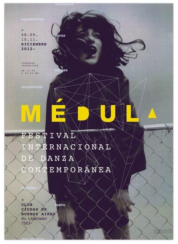 Sistema de Identidad – Festival (1) by Lucía Ladreche #inspiration #design #poster #typography