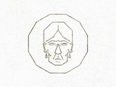 Dribbble - Maria Sabina by Alacran Creative #logotype #beer #pictogram #icon #indian #ancient #logo