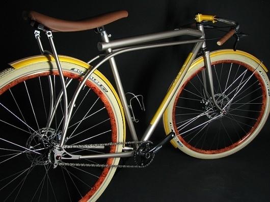 YiPsan Bicycles Café Racer #bike