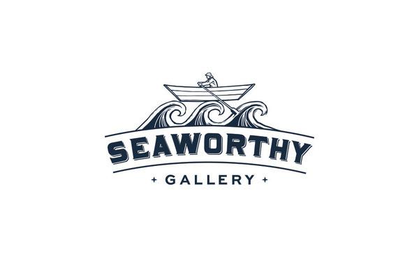Seaworthy Gallery on Behance #logo #brand