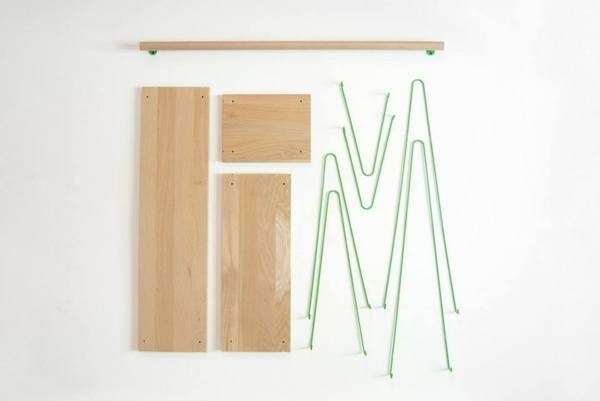 Bridge Shelves by Outofstock Design #modern #design #minimalism #minimal #leibal #minimalist