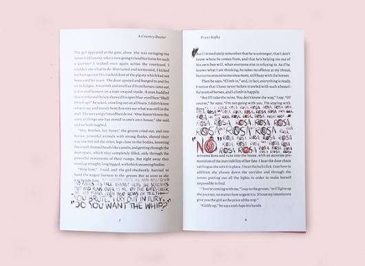 A Country Doctor on Typography Served #book #typography