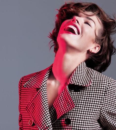 Milla Jovovich #fashion #photography #portrait