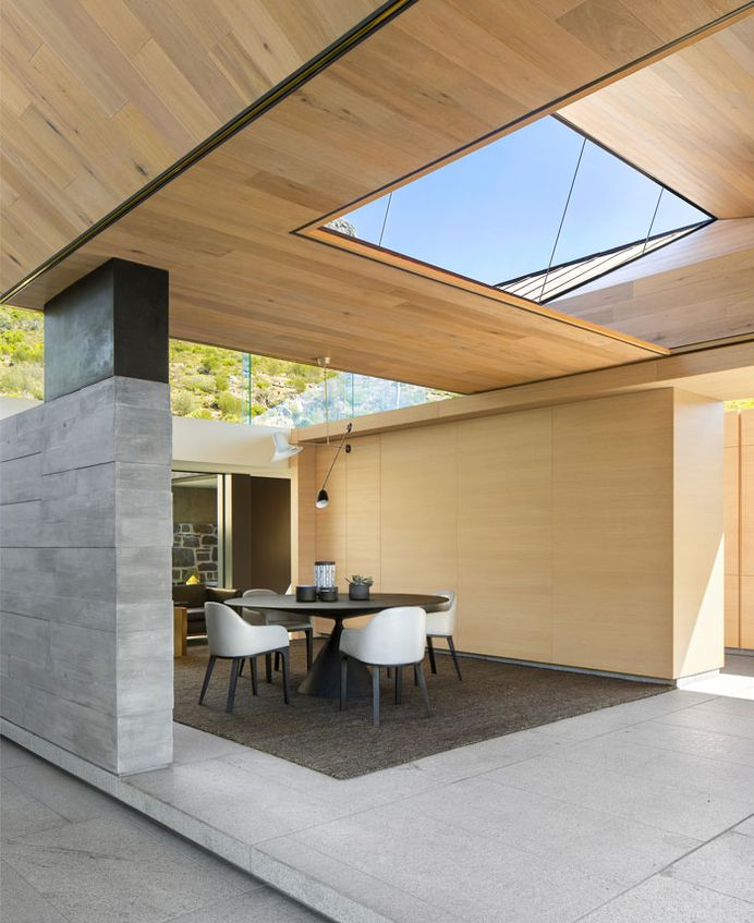 SAOTA Designed Family Home with Pyramid Roof