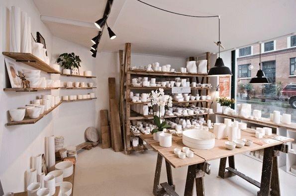 Keramiker Inge Vincents hipshops in Copenhagen. #retail #accessories #ceramics #shop #design #space #store #concept #hipshops