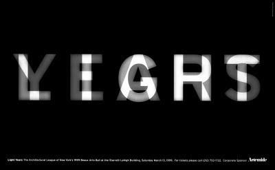 [BB Blog]: Light Years by Michael Bierut. #bierut #type #light #pentagram