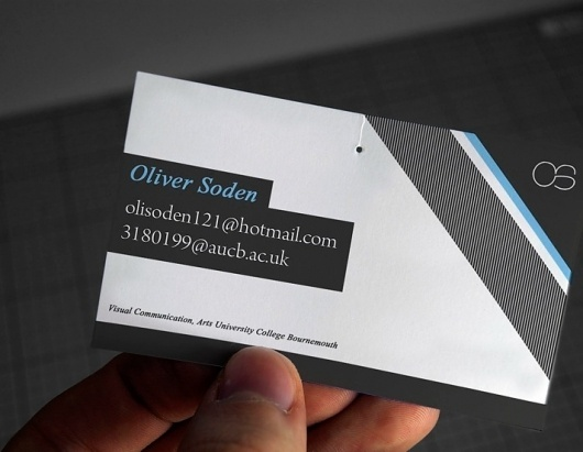 Personal Business Card - Business Cards - Creattica #card #personal #business