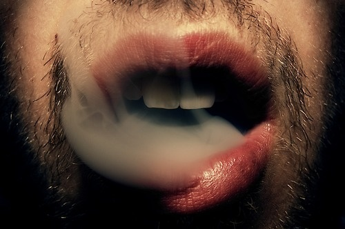 Best Photography Tumblr Cigarrete Smoke Mouth Images On Designspiration