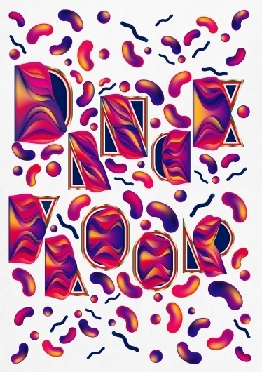 OCULTO #lettering #illustration #design #poster