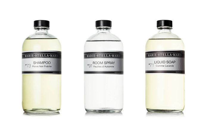 Marie-Stella-Maris Care Line on Packaging of the World - Creative Package Design Gallery #packaging #branding #bottle