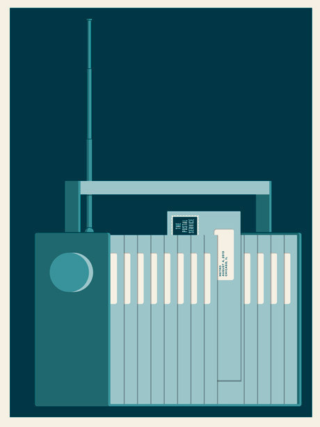 JasonMunn_ThePostalService_03 #small #gig #print #screen #stakes #poster