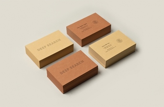 Deep Search | Christian Bielke #business #branding #print #identity #stationery #cards