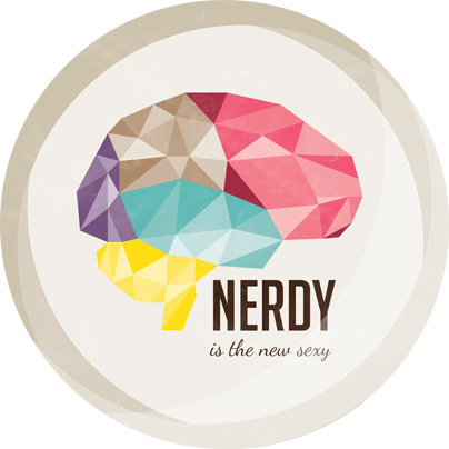 CJWHO ™ (Nerdy is the new sexy Linette Jacobsen CJWHO:...) #sexy #nerdy #design #illustration #colors #art