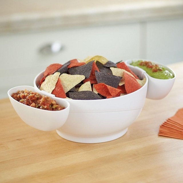Chip and Dip Bowl Set #tech #flow #gadget #gift #ideas #cool