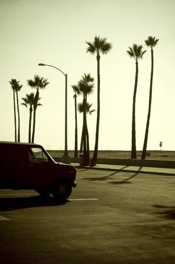 GILES LAMBERT. PHOTOGRAPHY. #beach #van #sunset #car #california