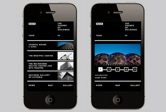 Sound of Buildings | COÖP #iphone #app