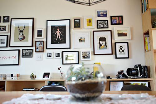 BLANKHAUS - frames #interior #decor #frames #wall #decoration