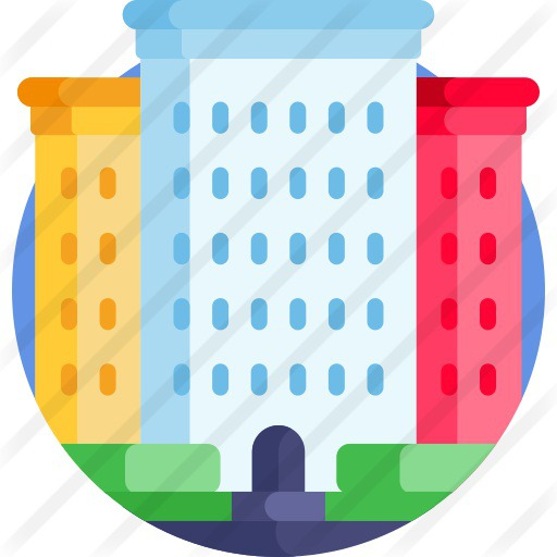 See more icon inspiration related to architecture and city, flats, real estate, offices, architecture, property, house, buildings, home, building, apartment and construction on Flaticon.