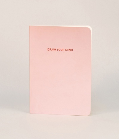 """MMMG Drawing Book Ver.03, Pink """"Draw your Mind"""" #draw #sketchbook"""