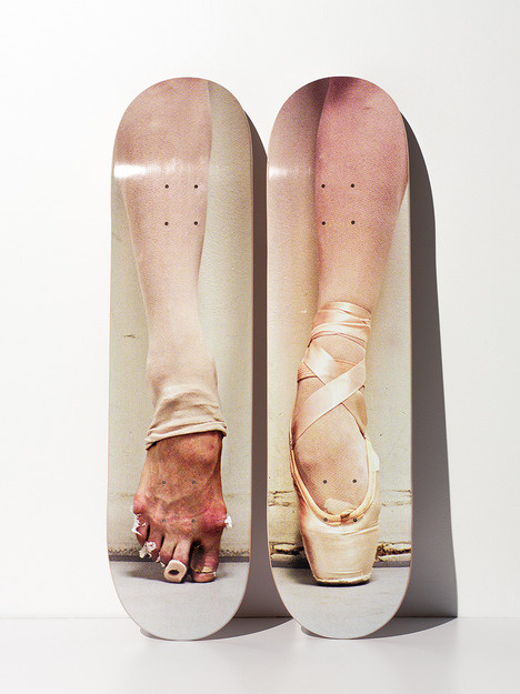this isn't happiness™ photo caption contains external link #foot #deck #photo #ballet #skate #skateboard