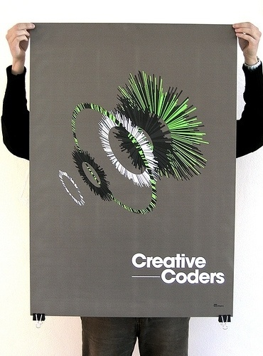 All sizes | Creative Coders Poster | Flickr - Photo Sharing! #print #fillstudio #poster #manu