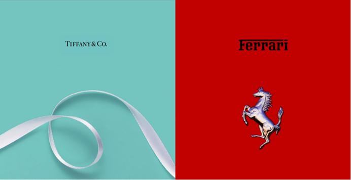 #color, #visual #identity, #Ferrary #Tiffanys #design