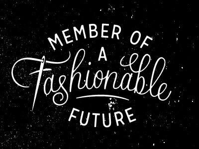 Fashion Week by Dan Cassaro #lettering