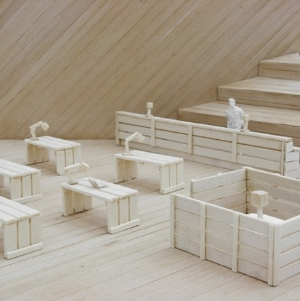 TAF #scale #model #sweden #exhibition #taf #architecture