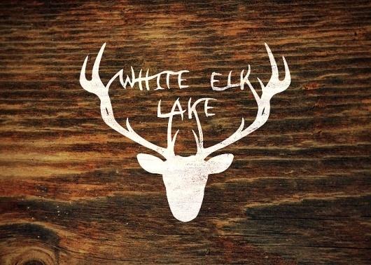Branding 10,000 Lakes #antlers #design #elk #wood #lake #logo