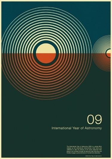 excites   Graphic Designer   Simon C Page #year #print #astronomy #graphic #poster