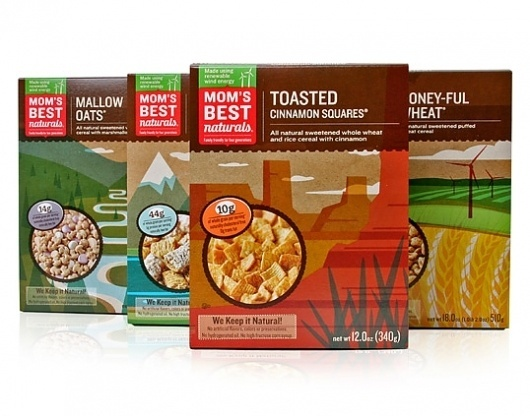 Mom's Best Naturals | Lovely Package #packaging