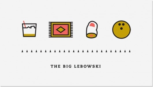 Iconic #lebowski #design #graphic #icons
