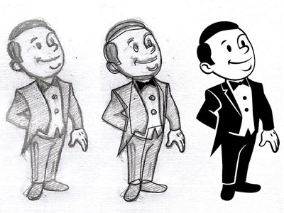 Dribbble - Little Butler by Cabaroc