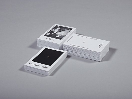 MICHEL MEIER on the Behance Network #business #branding #design #identity #cards